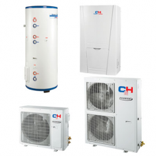 Unitherm2 Тепловий насос для опалення / охолодження і гарячого водопостачання (R410A, INVERTER) CH-HP10SINK2