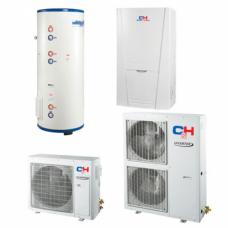 Unitherm Тепловий насос для опалення / охолодження і гарячого водопостачання (R410A, INVERTER) CH-HP6.0SINK