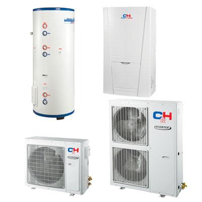 Unitherm Тепловий насос для опалення / охолодження і гарячого водопостачання (R410A, INVERTER) CH-HP12SINK